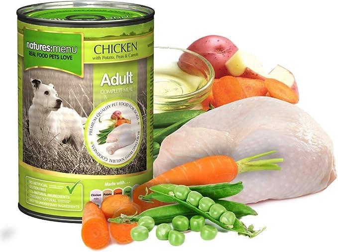 Imagen deNATURES MENU Dog Food Can Chicken (12 x 400g)