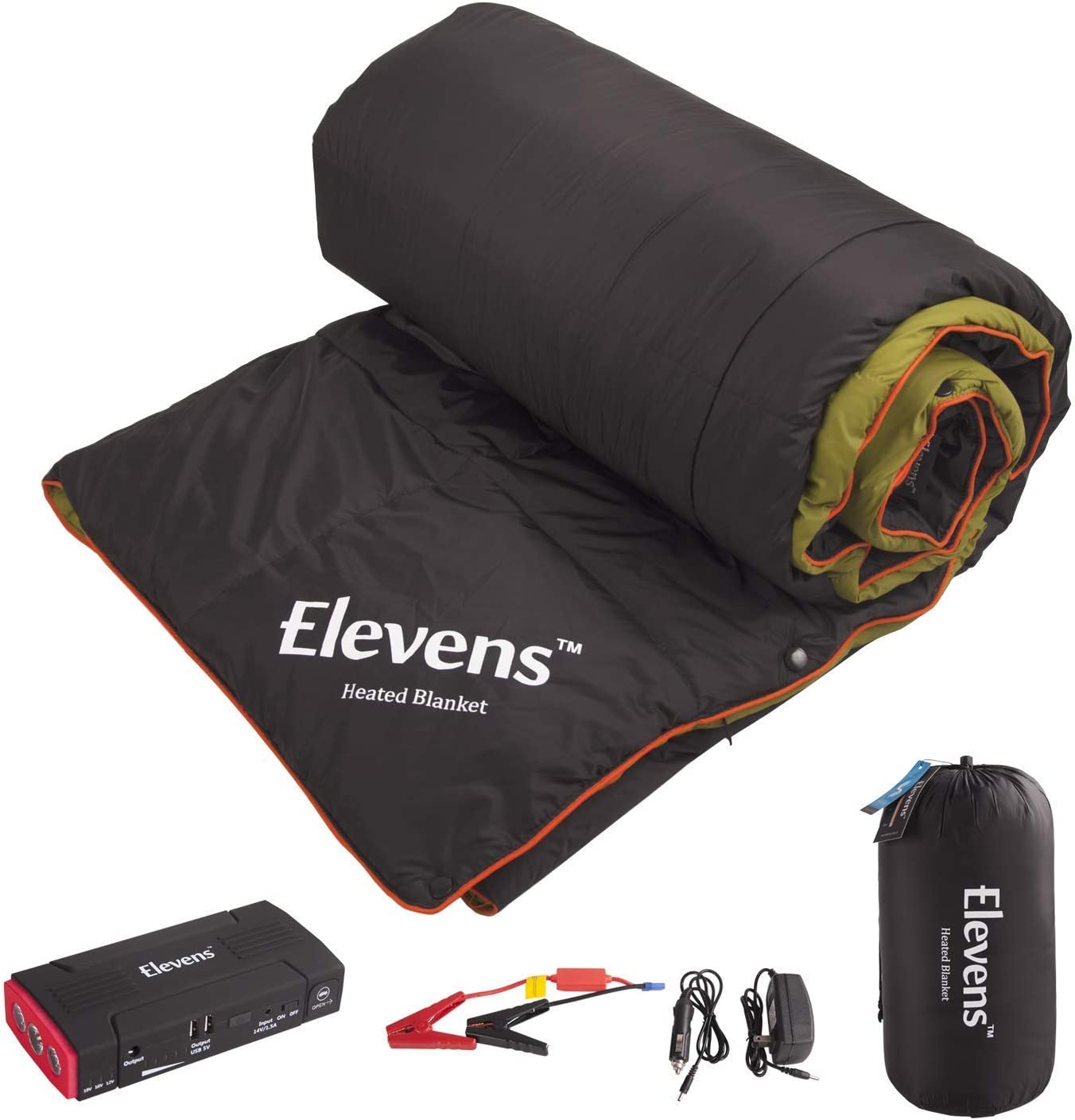 Amazon Com Lightweight Battery Operated Heated Camping Blanket