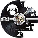 Star Wars Clock, Wall Art Room Decor for Bedroom Kitchen Bathroom Nursery, Starwars Merch for Birthday Christmas…