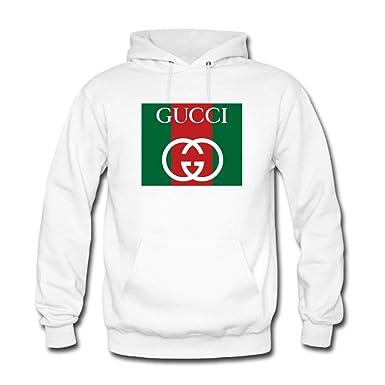 Colorful Gucci - Sudadera con capucha - para mujer blanco XXL