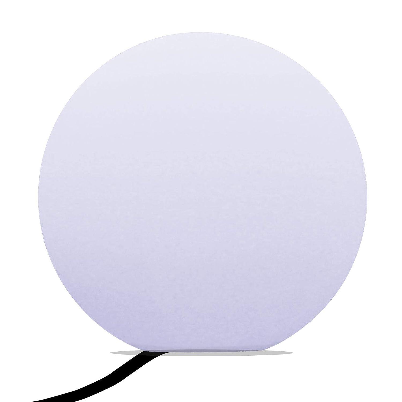 40cm Lámpara de Esfera Pie LED Moderna - Esfera de Luz de Salon, Comedor, Dormitorio (Bombilla E27 Blanco Frio Incluida) de PK Verde d24f61