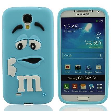 Silicona Prima Funda protector para Samsung Galaxy S4 i9500, Dibujos Animados Estilo 3D Modelado Carcasa para Samsung Galaxy S4, Samsung Galaxy S4 ...