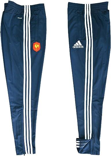 adidas Pantalon France Rugby FFR TRG Bleu F39865: Amazon