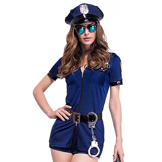 Amazon.com: Colorful House disfraz de uniforme de policía ...