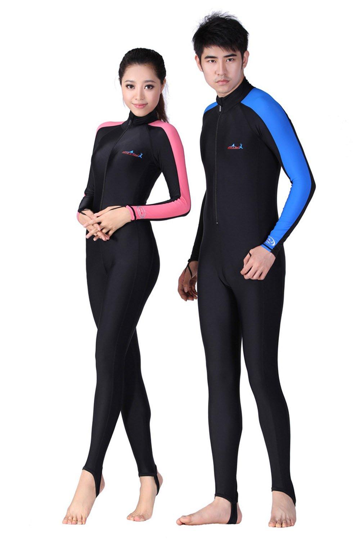 Amazon.com: Un punto Snorkeling Natación Piel Full Suit ...