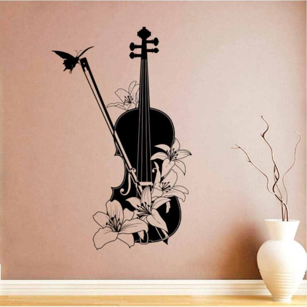 Hwhz 36X57 Cm Instrumento Musical De Vinilo Tatuajes De Pared ...