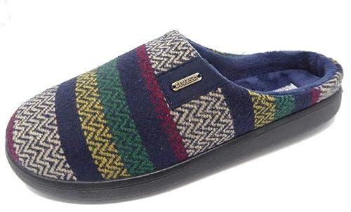 Coolers Premier - Zapatillas de Estar por casa de Tela para Hombre: Amazon.es: Zapatos y complementos