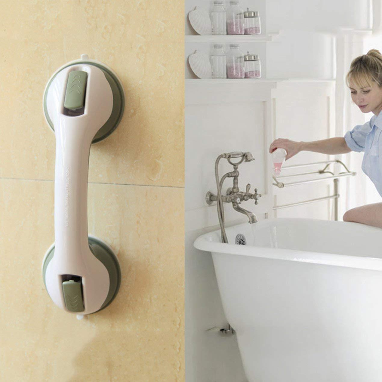 Wei/ß Saugbalance Assist Badegriff Sicherheit Haltegriff Handlauf Badewanne Badezimmer Duscharmlehne f/ür /ältere Kinder