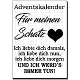 Der Adventskalender für deine Liebsten (Schatz)