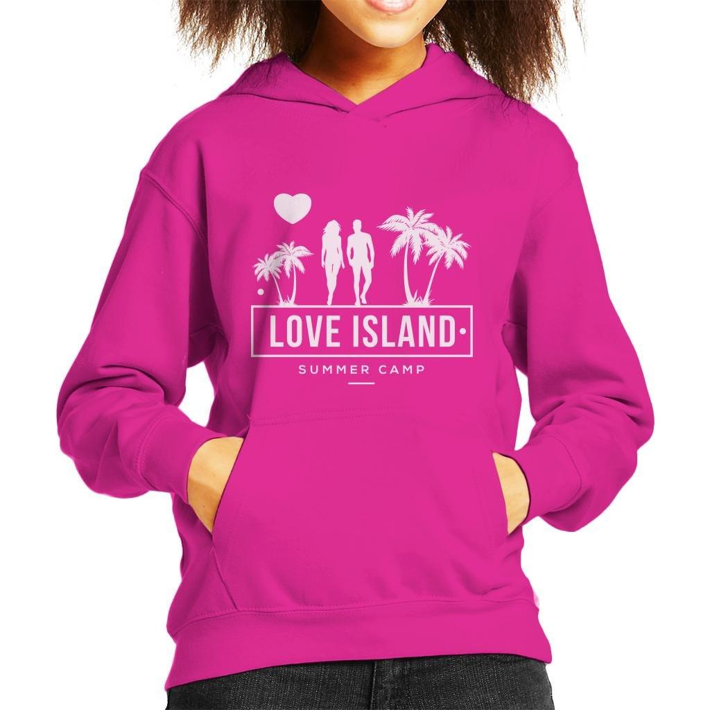 Love Island Summer Camp 2018 Kid's Hooded Sweatshirt by Coto7 (Image #1)