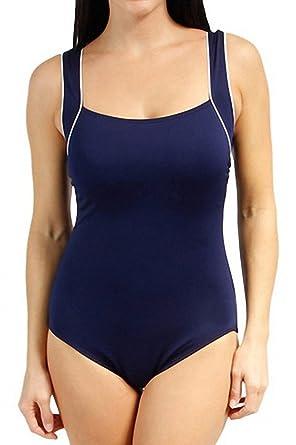 Ecute Damen Einteiler Sports Badeanzug Figurformend Bademode Schwimmanzug 41f97a4632