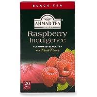 Ahmad Tea Raspberry Indulgence Black Tea, 20 Teabags