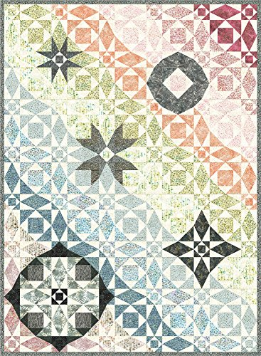 - Bali Batiks After the Storm Quilt Kit Hoffman Fabrics HFSKIT-135-PASTEL