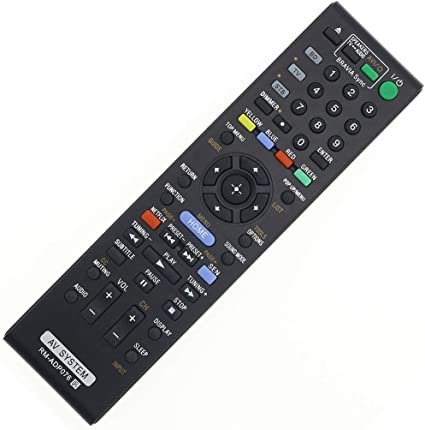 Remote Control For Sony HBD-N790W HBD-T39 HBD-E3100 Blu-ray Home Theater System