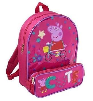 Amazon.com: Peppa Pig Childs Small Backpack / Rucksack ...