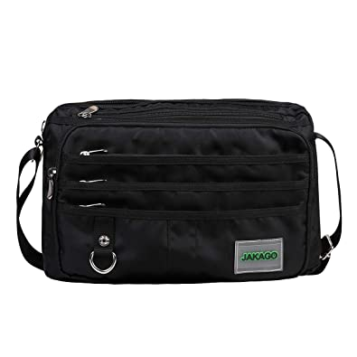 "177cd07f5f JAKAGO Waterproof Shoulder Bag Messenger Bag Laptop bag Crossbody Bag for  14"" Laptop  13.3"