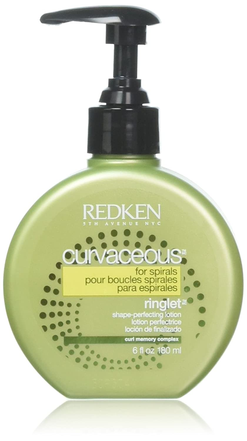 Redken Curvaceous Ringlet Anti-Frizz Perfecting Hair Treatment Lotion, 6 oz 0884486235411 47113