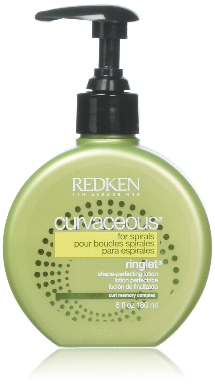 Redken Curvaceous Ringlet Anti-Frizz Perfecting Hair Treatment Lotion, 6 oz by REDKEN