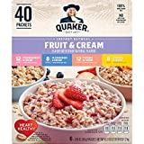 Quaker Quaker Instant Oatmeal Fruit And Cream
