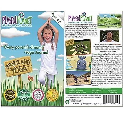 Yoga for Kids Set: Best Yoga DVD, Yoga Mat and Yoga Mat Bag