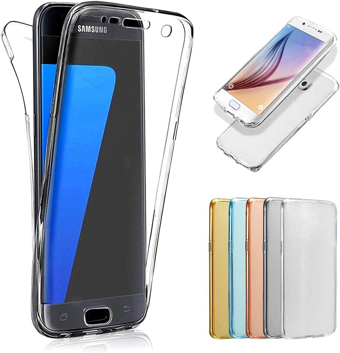 Dclbo Für Samsung Galaxy A50 Hülle Handyhülle Full Body Case Silikon Tpu Transparent 360 Grad Vorne Und Hinten Schutzhülle Durchsichtig Dünn Stoßfest Silikonhülle Für Samsung Galaxy A50 Transparent Musikinstrumente