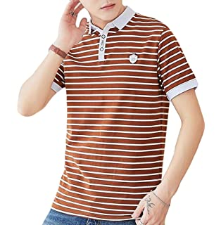 DAD97KHG Sea Turtle Mens Short-Sleeve Polo Shirts