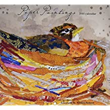 Perfect Timing Lang Paper Paintings 2016 Wall Calendar by Elizabeth St. Hillaire Nelson, January 2016 to December 2016, 13.375x24-Inch (1001949)