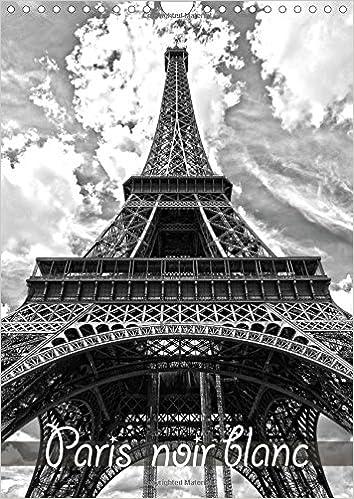 Livres Paris noir blanc : La capitale Paris en noir et blanc, vue d'un taxi. Calendrier mural A4 vertical 2016 epub pdf