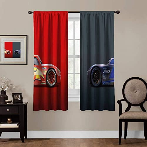 Blackout Curtains,Cars Jackson Storm Lightning McQueen 3
