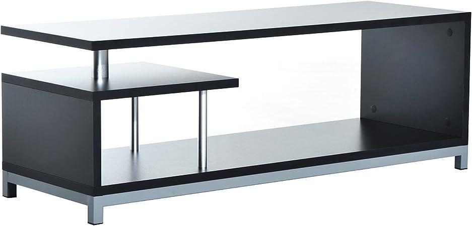 Mueble para Televisor con Soporte Moderno de TV 114x40x40,5cm Mesa ...