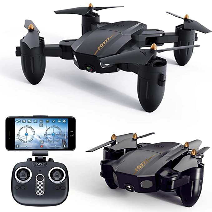 FQ777 FQ36 FPV RC Drone with 720P HD Wi-Fi Camera Live Video 2.4 ...