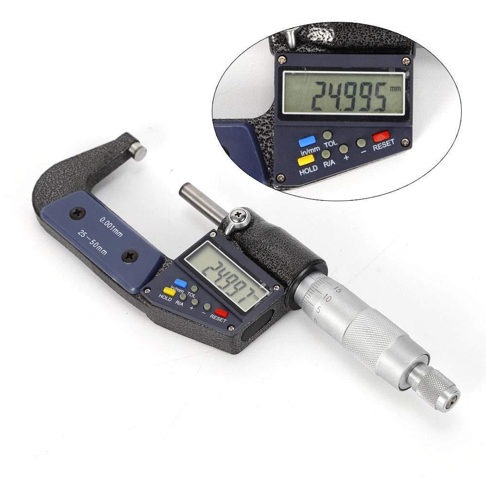 Scale 0-25mm Digital Micrometer Multi-Function With Measurement Tools Digital