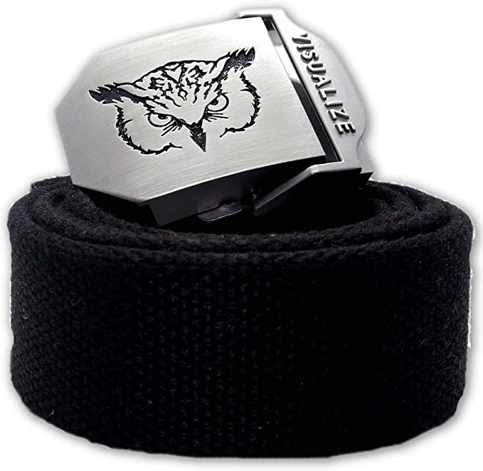 MANTLE Golf Belts - Web Belt - Adjustable Belt - Golf Accessories - Belts for Men & Women