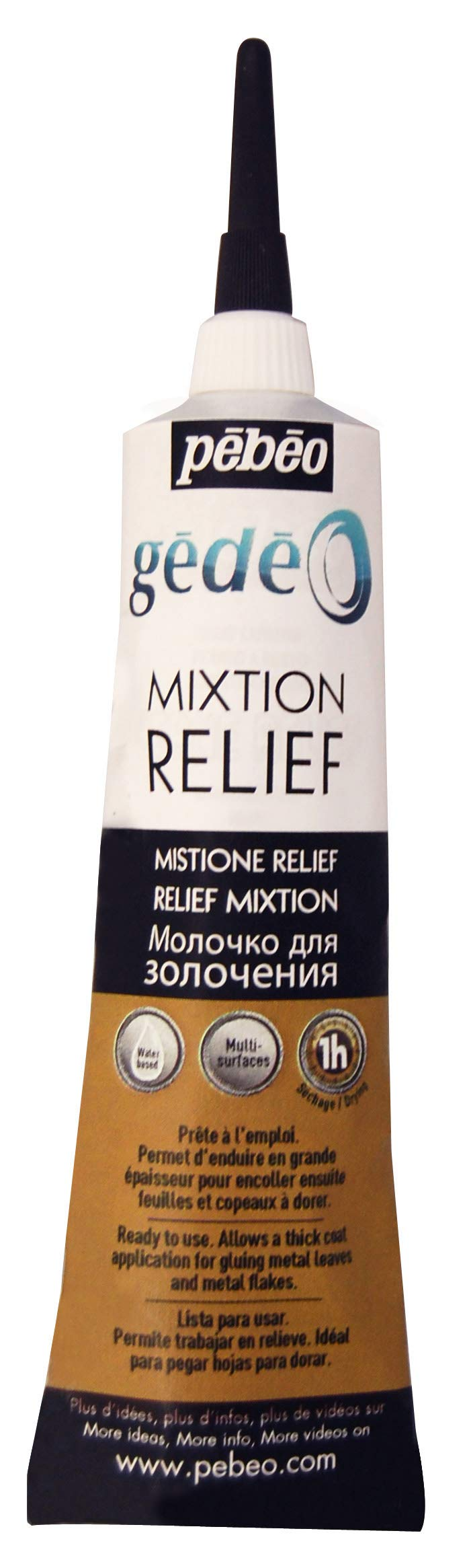 PEBEO Gedeo Mixtion Relief Gilding Paste, 37 ml Tube