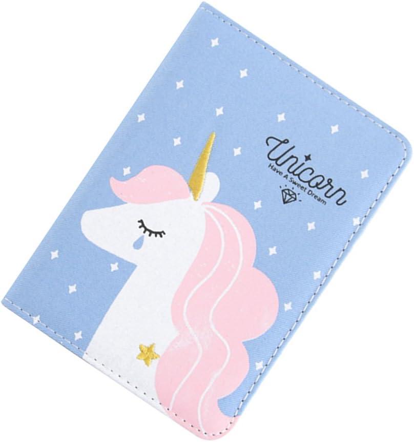 Cielo blu TOYMYTOY Taccuino disegno di Unicorno Colorato Originale Quaderno Diario per ragazze