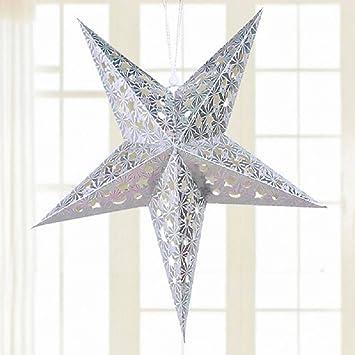 Ilovediy Weihnachten Sterne Hängen Anhänger Dekoration Für
