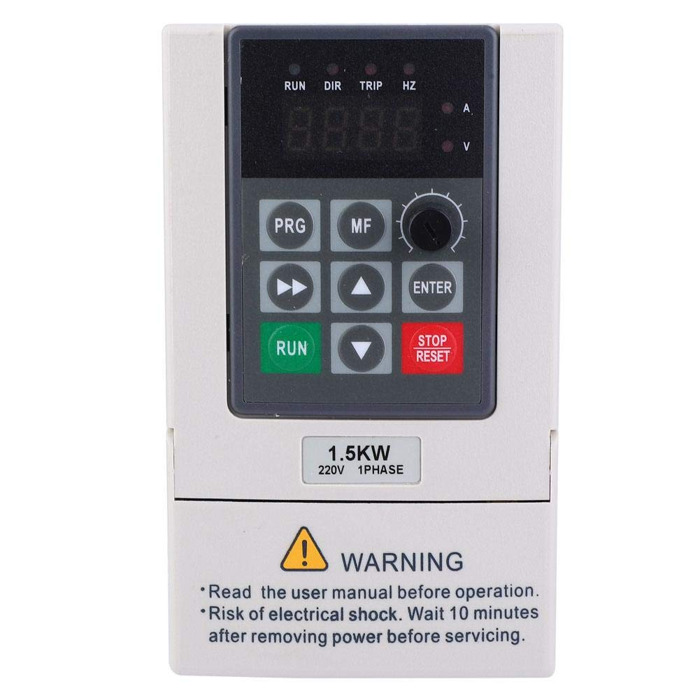 3 Single Phase to Inverter Frequency, 1.5KW 220V Variable Frequency Converter by Xinwoer