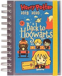 Agenda escolar 2019/2020 A5 12 meses Semana Vista Harry ...