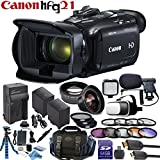 Canon VIXIA HF G21 Camcorder with Lens Enhancement Bundle