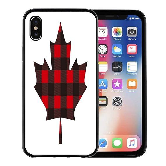 best service e8e95 49bbc Amazon.com: Emvency Phone Case for Apple iPhone Xs case,Canada ...