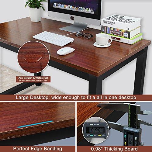 modern simple style computer desk pc laptop study table office desk