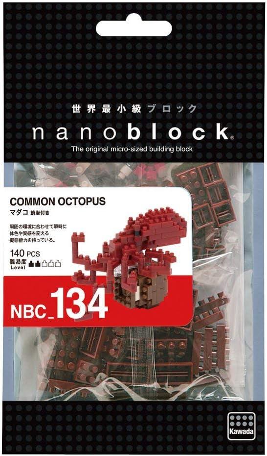 Nanoblock Common Octopus Building Kit