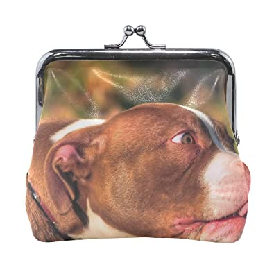 a83c8955f012 Amazon.com: Rh Studio Coin Purse American Bully Animal Face Tongue ...