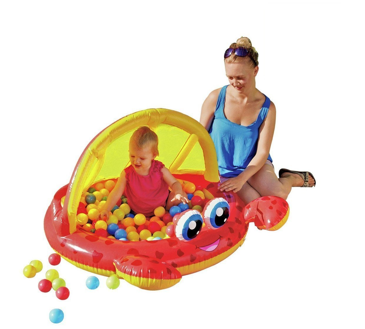 Crab Baby Pool and Ball Pit. by Chad Valley: Amazon.es: Juguetes y ...