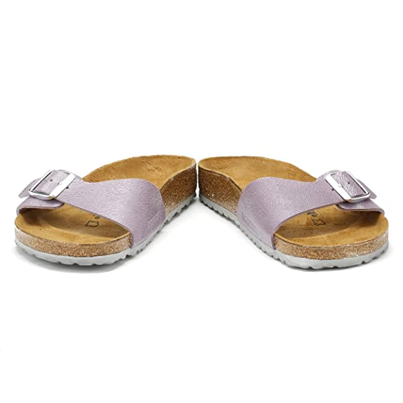 b2373863d0a6e0 Birkenstock Womens Animal Fascination Purple Madrid Birko-Flor Sandals-UK  8  Amazon.co.uk  Shoes   Bags