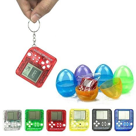 AOLVO Tetris Juego, 26 en 1 Mini Jugador de Juego Antiestrés ...