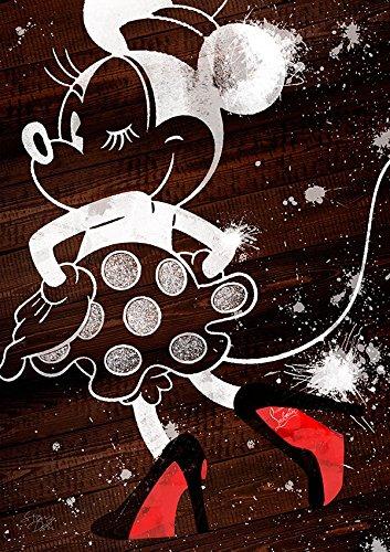 Minnie × Christian Louboutin ルブタン ポップアート #hi01 オマージュアートポスター (A1(594×841mm)) STAR DESIGN B01LX6EJ7XA1(594×841mm)