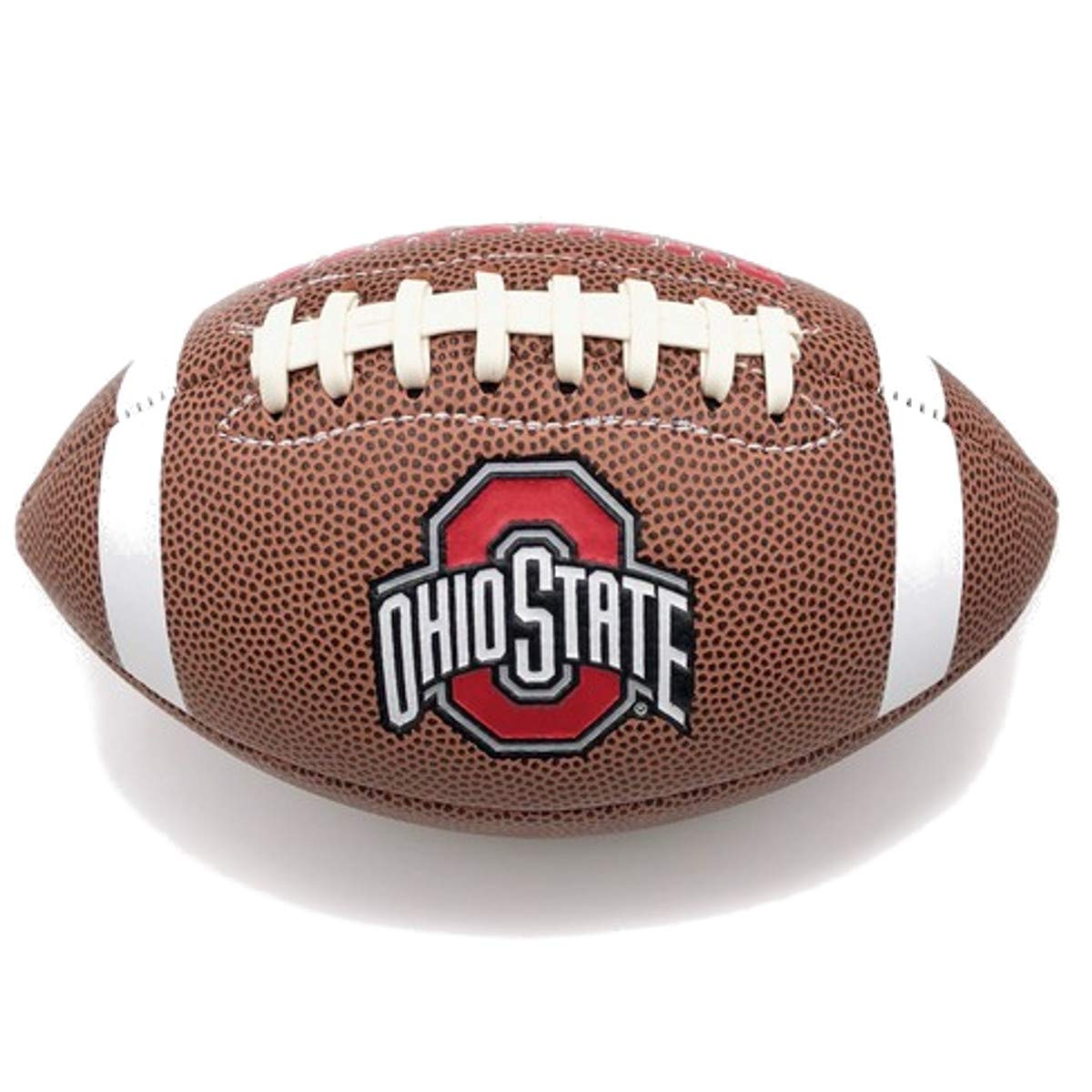 Jarden Sports Licensing Official National Collegiate Athletic Association Fan Shop Authentic NCAA AIR IT Out Youth Football. Great for Pick up Game with The Kids. (Ohio State Buckeyes)