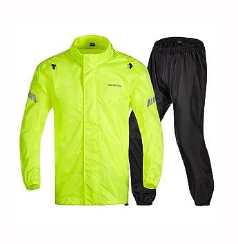 LYP-Rainwear Traje de Impermeable portátil Traje de Lluvia ...