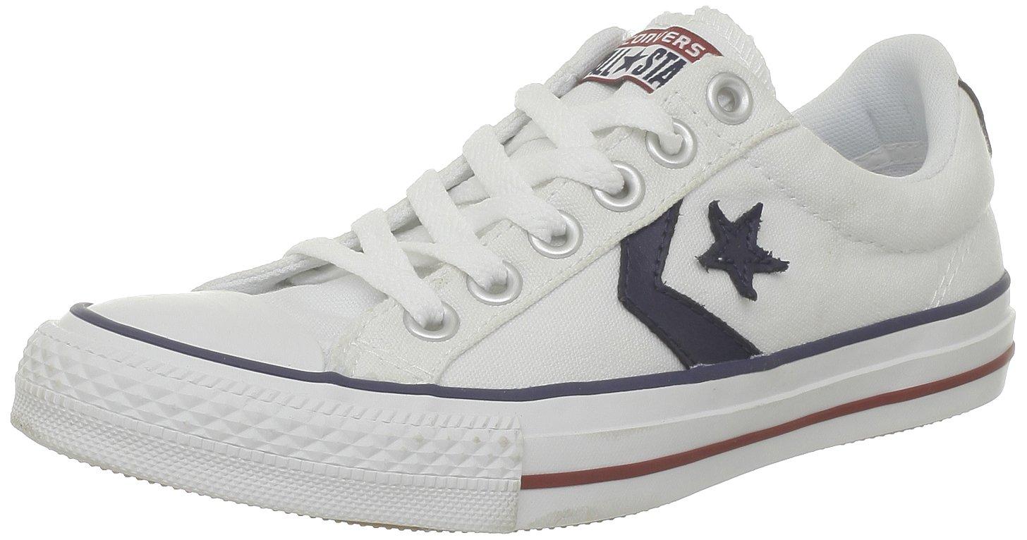 Converse Sp Core Canv Ox 289161-52-10 Unisex - Erwachsene Sneaker  40.5 EU|Wei? (Blanc/Noir)